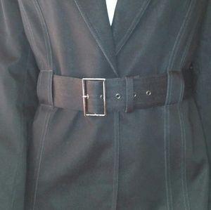Isabella DeMarco Jackets & Coats - Isabella DeMarco 8 Black Modern Blazer Belted